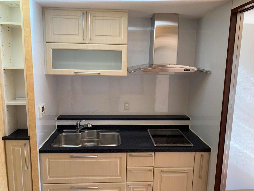 収納しっかりで使いやすいキッチン